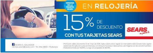WEEK discounts watchs savings SEARS - 13may15