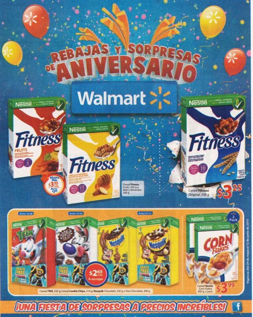 cereales para ninos y grandes OFERTAS walmart supermercado - 29may15
