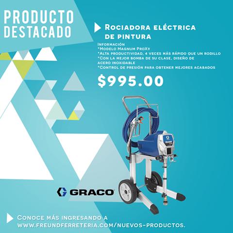 electric painter GRACO Magnum Prox9 rociadora electrica de PINTURA