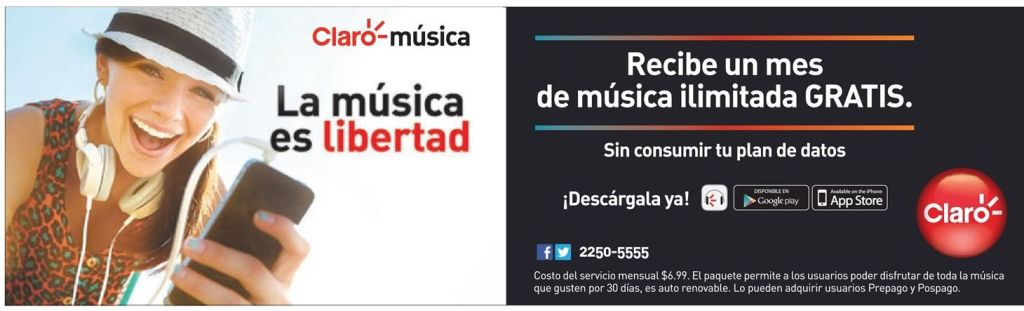ilimited online music service CLARO promotions