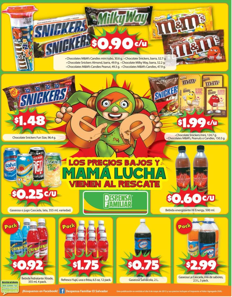 ofertas en chocolates M&M - 08may15