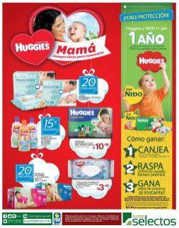 ofertas productos Huggies MAMAS y BEBES contentos - 09may15