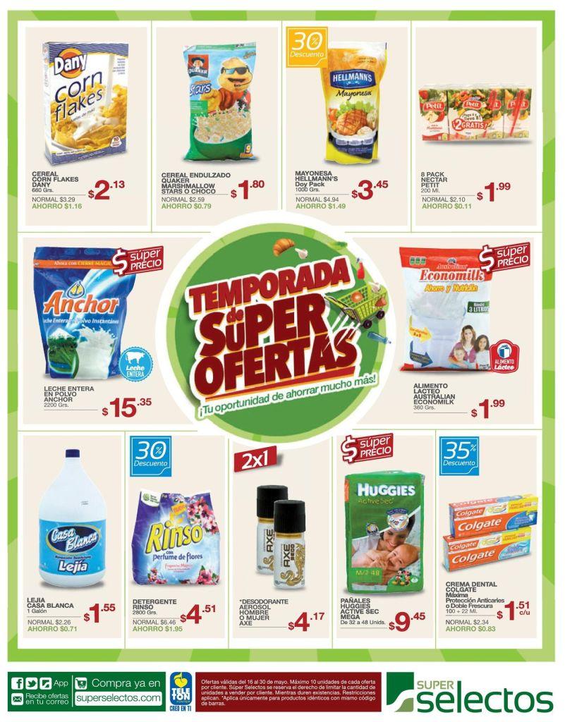 super selectos TEMPORADA de super ofertas - 16may15