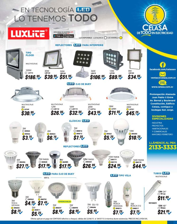Apreder mas acerca de la TECNOLOGIA LED ilumina mas con menos dinero
