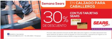 Calzado para caballeros 30 OFF tarjetas sears - 15jun15