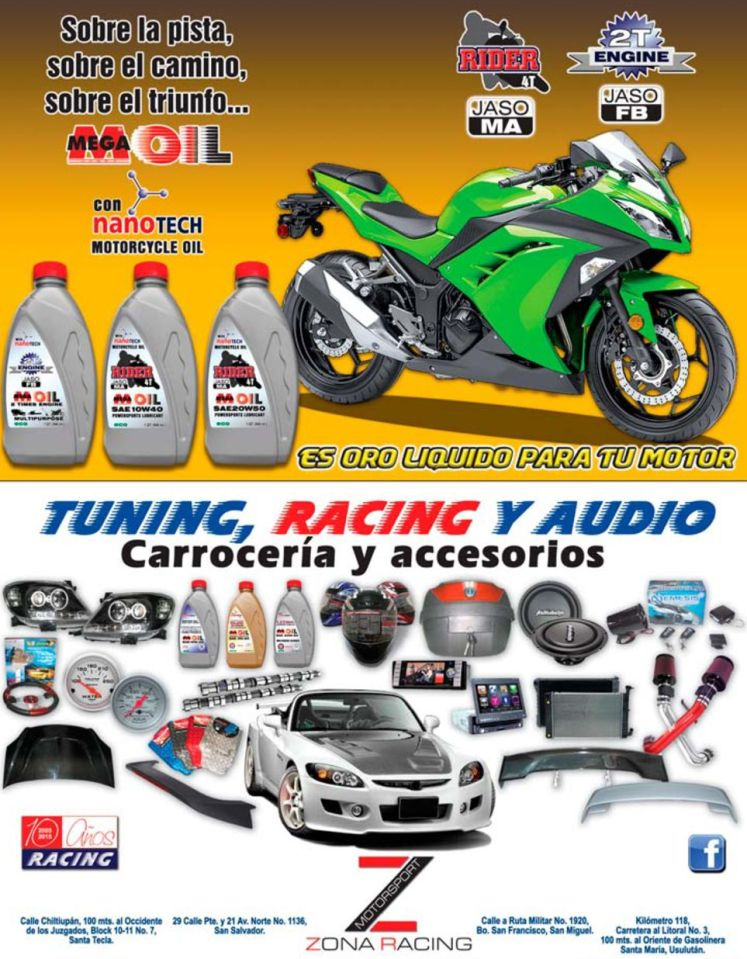 Comprar acceosios RANCING el salvador tunning and audio