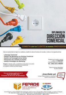 Direccion comerical FEPADE diplomados