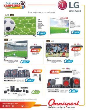 Electrodomesticos LG promociones disponibles en OMNISPORT - 15jun15