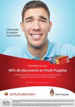 Escucha bien 40 OFF en zapatos Hush Puppies - 12jun15
