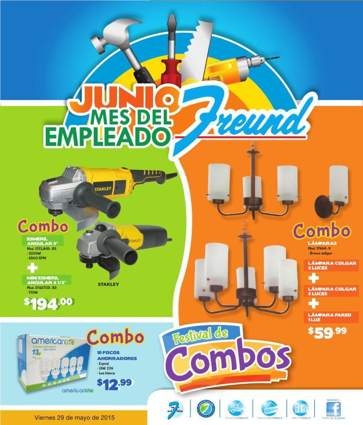 FREUND presenta su Festival de combos en JUNIO 2015
