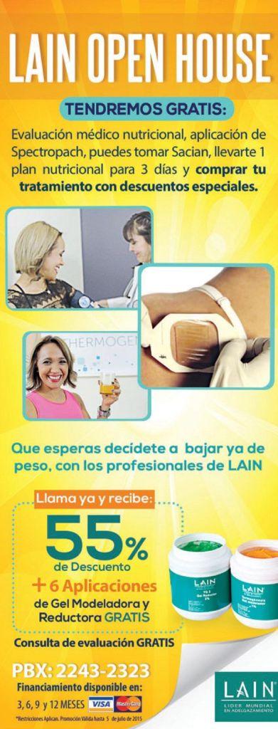LAIN open house soluciones para bajar de peso