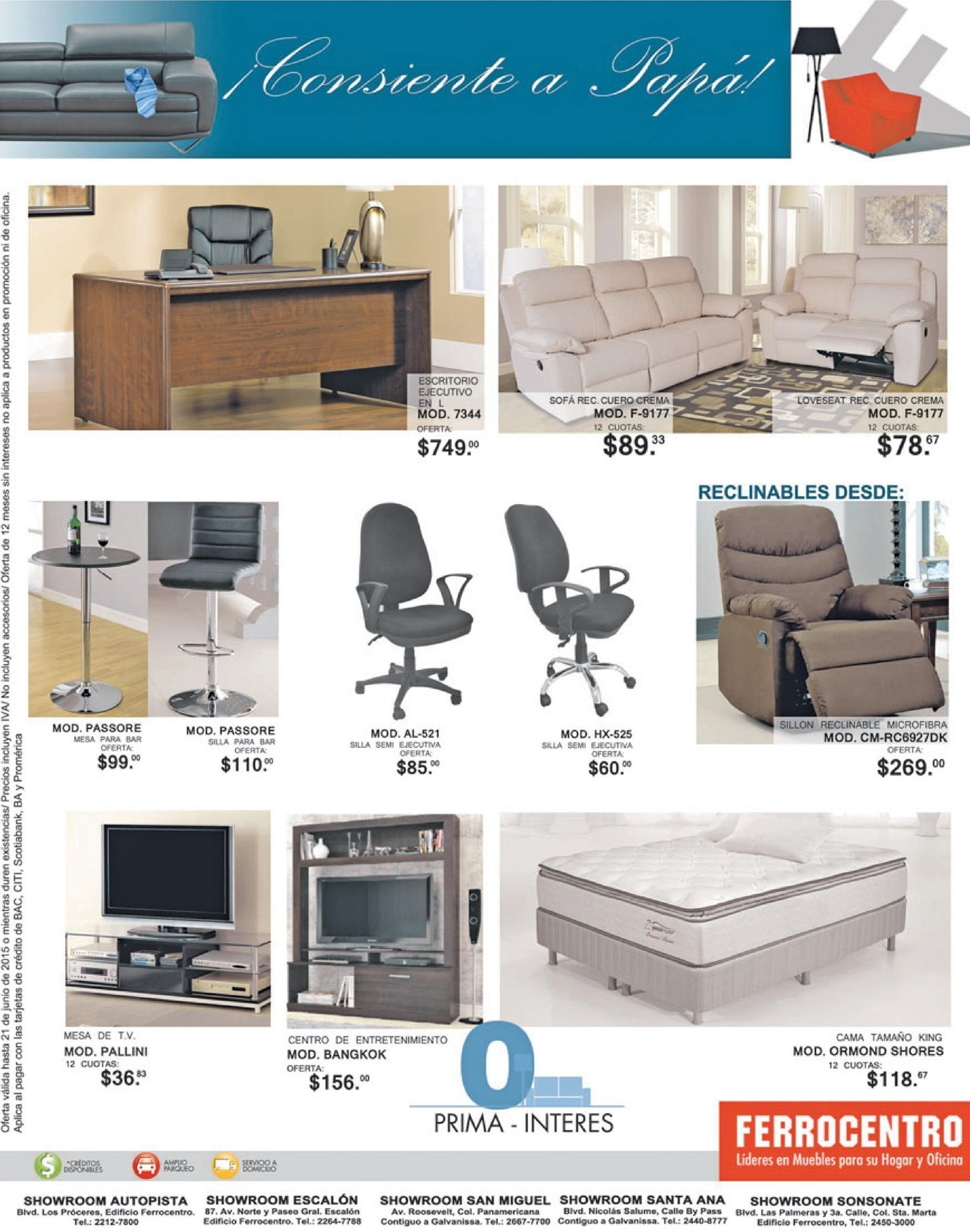 Muebles de calidad y estilo de lujo ferrocentro 16jun15 for Muebles calidad