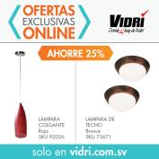 Ofertas exclusivas online VIDRI store luminarias