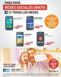 PAPA conctado con sus redes sociales CLARO - 10jun15