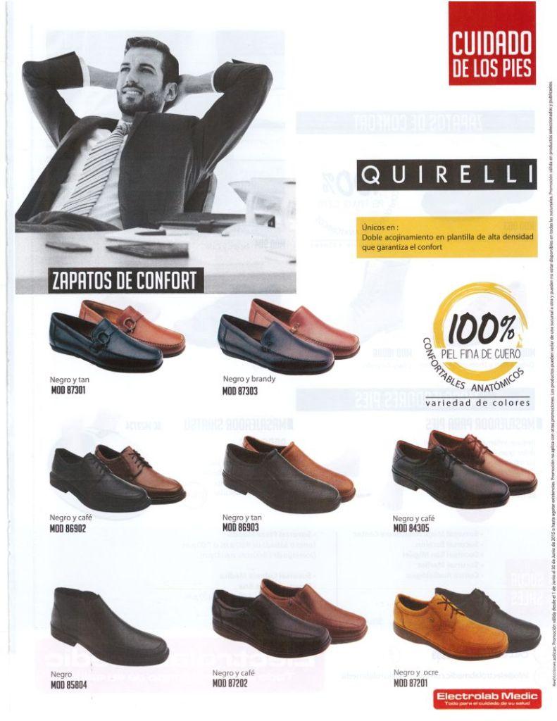QUIRELLI calzado super confortable para los pies de PAPA