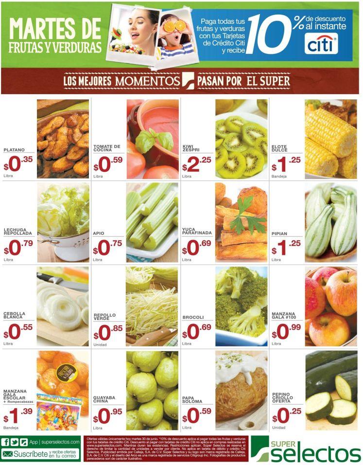 Quieres comprar produtos frescos este dia - 30jun15