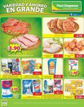 Ricas y frescas ofertas en la maxi despensa - 19jun15