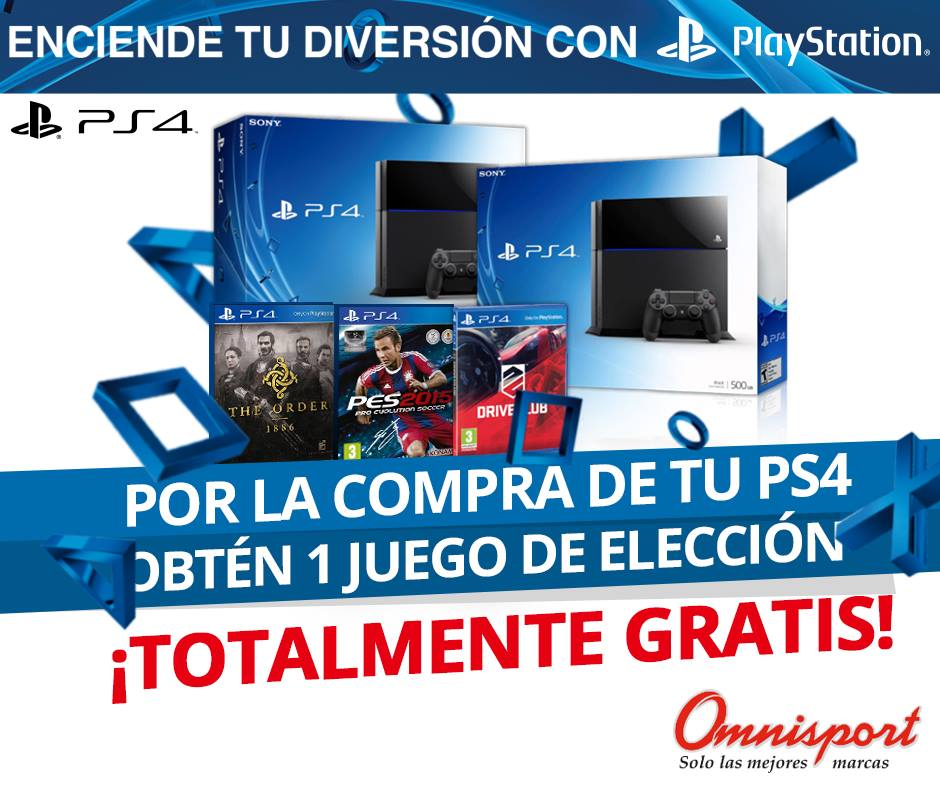Status PLAY STATION 4 promotions FREE video game