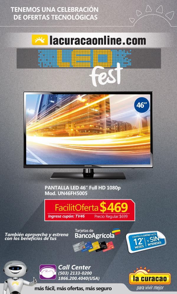 TV LED fest promotions  ONLINE CUOPON la curacao - 24jun15