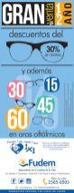 VENTA de medio ano lentes y aros oltalmicos FUDEM - 01jun15