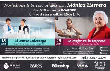 Workshop internatinals for women by MONICA HERRERA