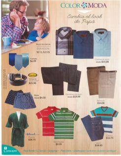 camisas pantalones boxer cinchos pochos TODO en color moda