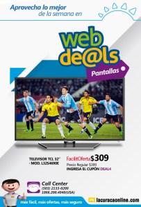 shopping WEB deals TV pantallas facil oferta de la curacao