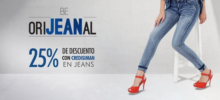 25 off en JEANS originals by SIMAN - 15jul15