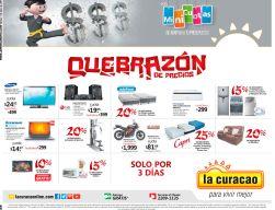 ATENCION 3 dias de quebrazon de precios en almacenes LA CURACAO - 03jul15