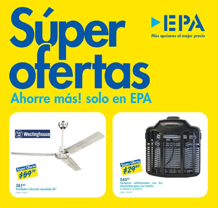 Ahorre mas en EPA folleto de super ofertas JULIO 2015