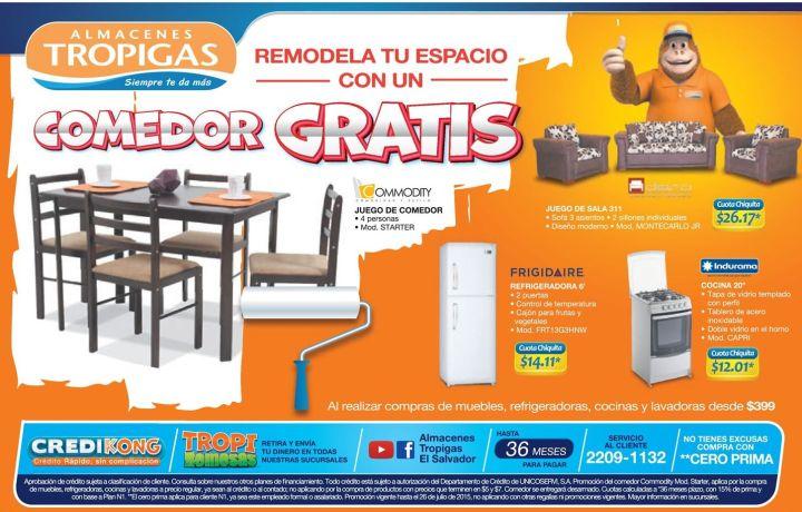 Almacenes Tropigas te ayuda a remodelar tu hogar con esta promo - 24jul15
