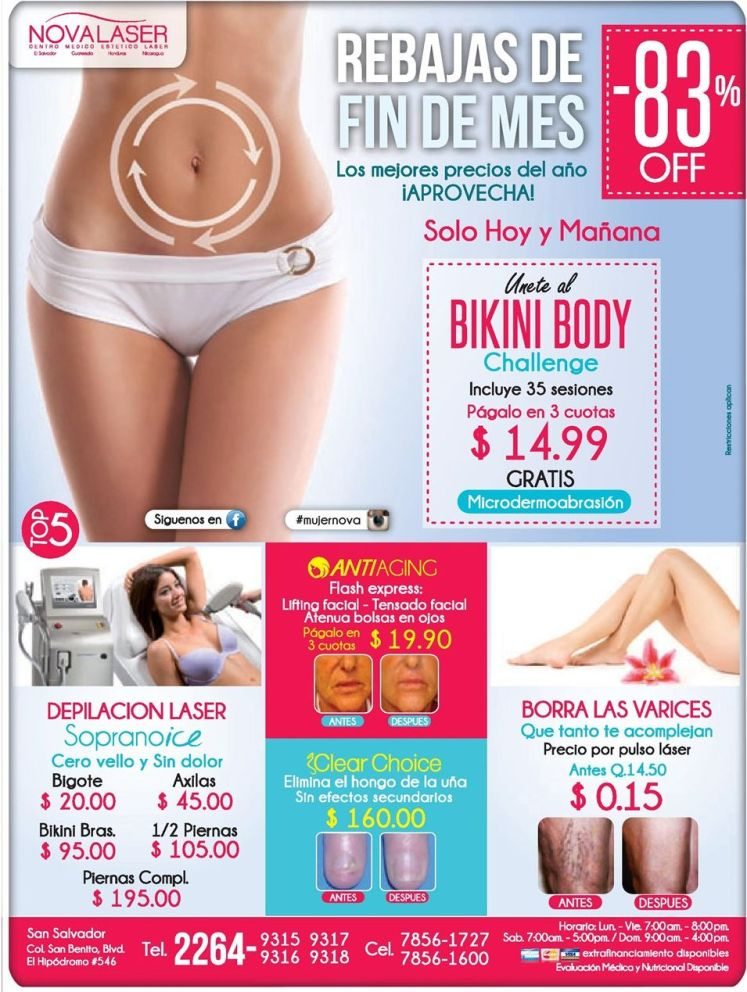 BIKINI body challage for vacations