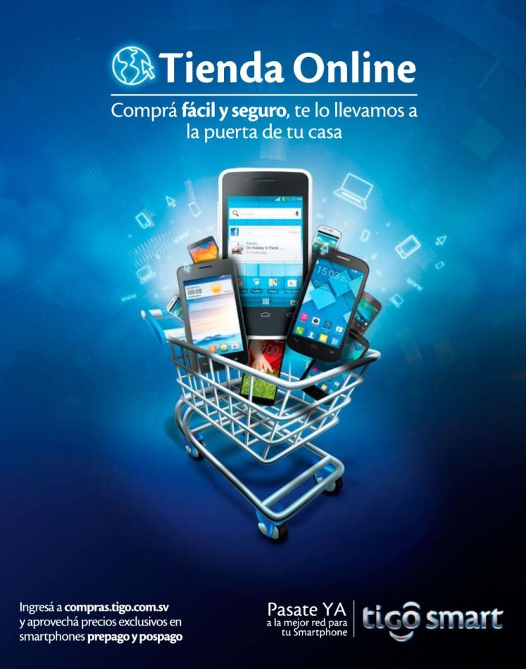 BUY easy quickly and secure TIGO online store