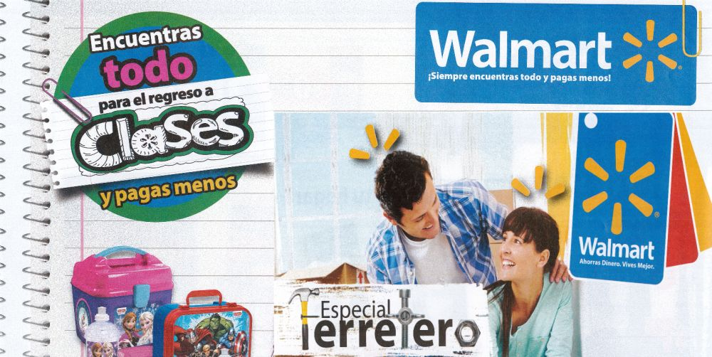 WALMART presenta catalogo Back to School y Especial Ferretero (Jul-Ago-2015)
