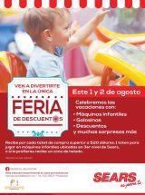 Celebracion de las fiestas agostinas 2015 con promociones SEARS