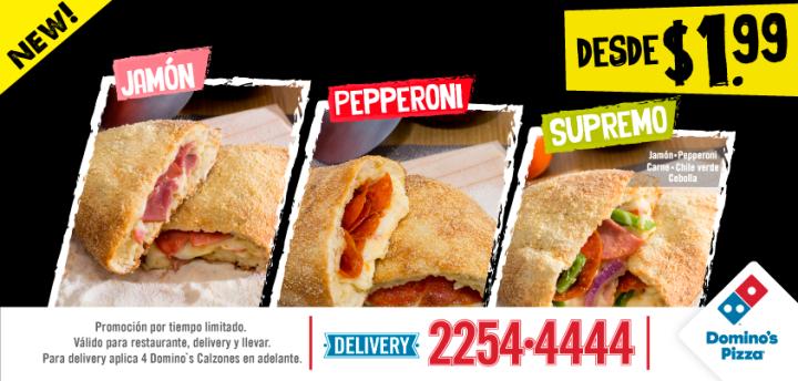 Cual es el CALZONE preferidos DOMINOS pizza por solo 1.99