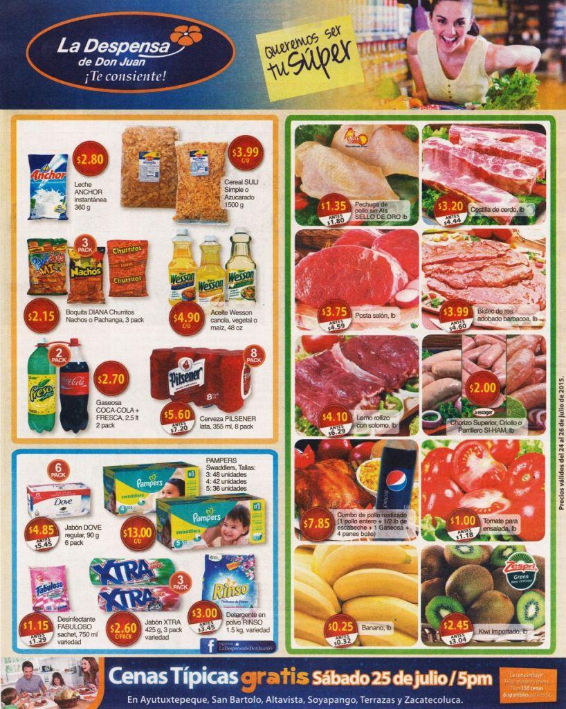 Donde encuentras de todo para tus compras LA DESPENSA de DON JUAN - 24jul15