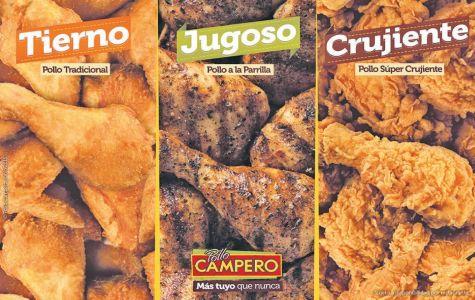 Especialidades de POLLO en resturante pollo campero