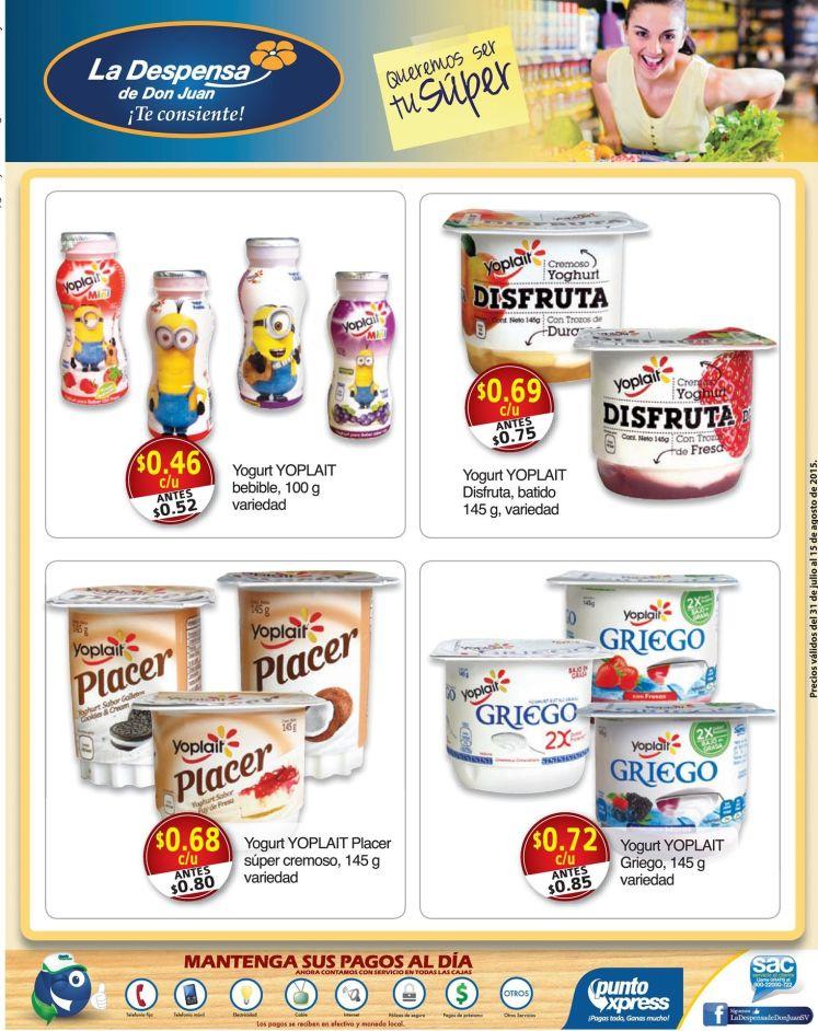 Especialidades y delicias para el desayuno en la despensa - 31jul15