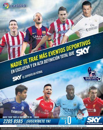 Eventos deportivos HD definition suscripcion television satelital