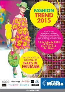Fashion TREND 2015 weekend PLAZA MUNDOsv