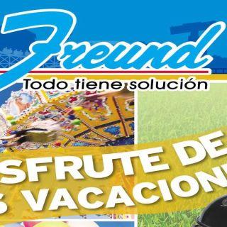 Ferreteria FREUND cuadernillo de ofertas agosto 2015