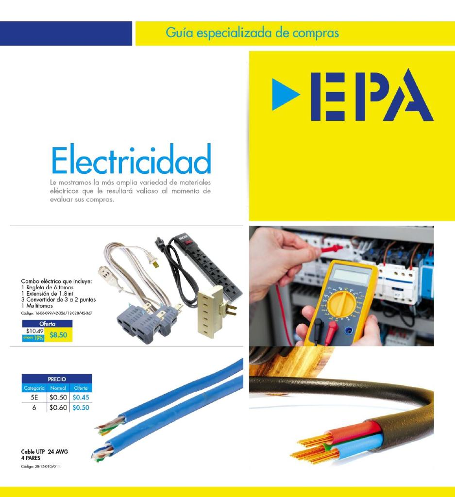 GUIA especializada de compras electric device and accesories