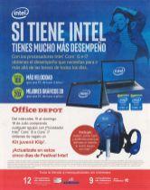 Intel core i5 i7 mejor funcionamiento OFFICE DEPOT promotion