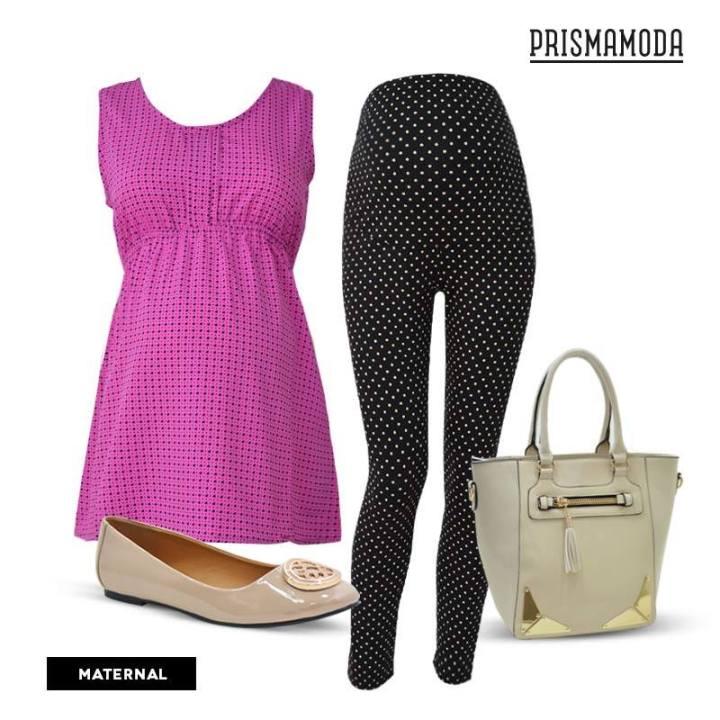 Look pregnant fashion style by Prisma Moda