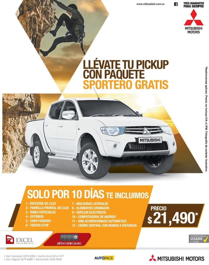 Mitsubishi motors DEALS pick up sport trend