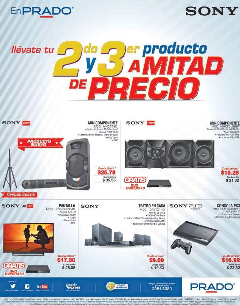 PRADO no se queda atras promociones a mitad de precio - 03jul15