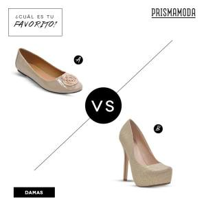 Prisma Moda calzado para ella Flats o Platform Pump
