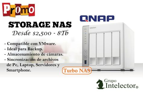 QNAP storage Turbo NAS technology for VMware Backup security cameras or sinc