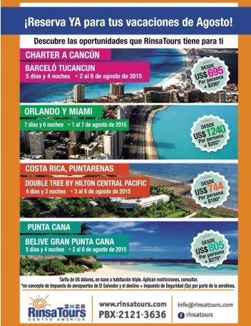 Reserva ya tus paquetes de vacaciones BEACH